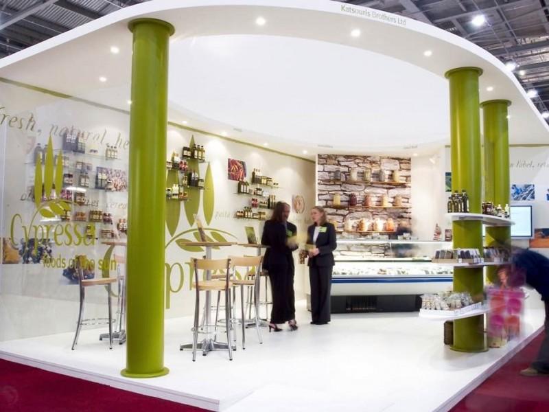 Exhibition Stand Visuals : Cypressa nugget design
