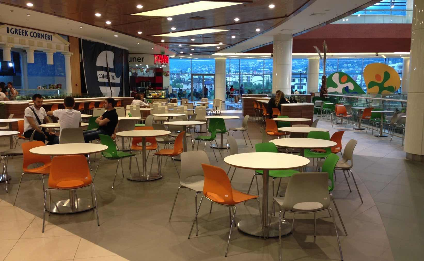 Food Court Design Concept