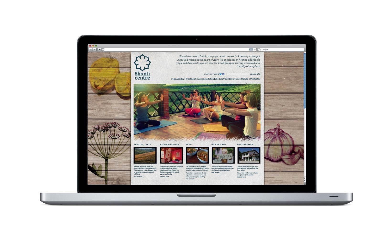 Shanti-centre-website