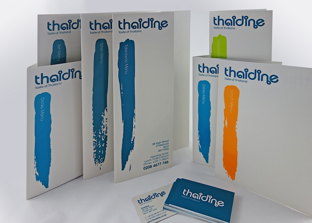 Thaidine Menu Group