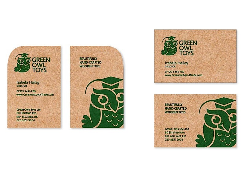 Green-Owl-Toys-business-card-and-swing-tag