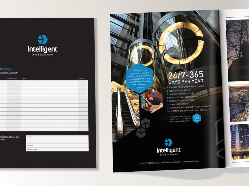 Inteligent lifts A4 advert- Log book LR