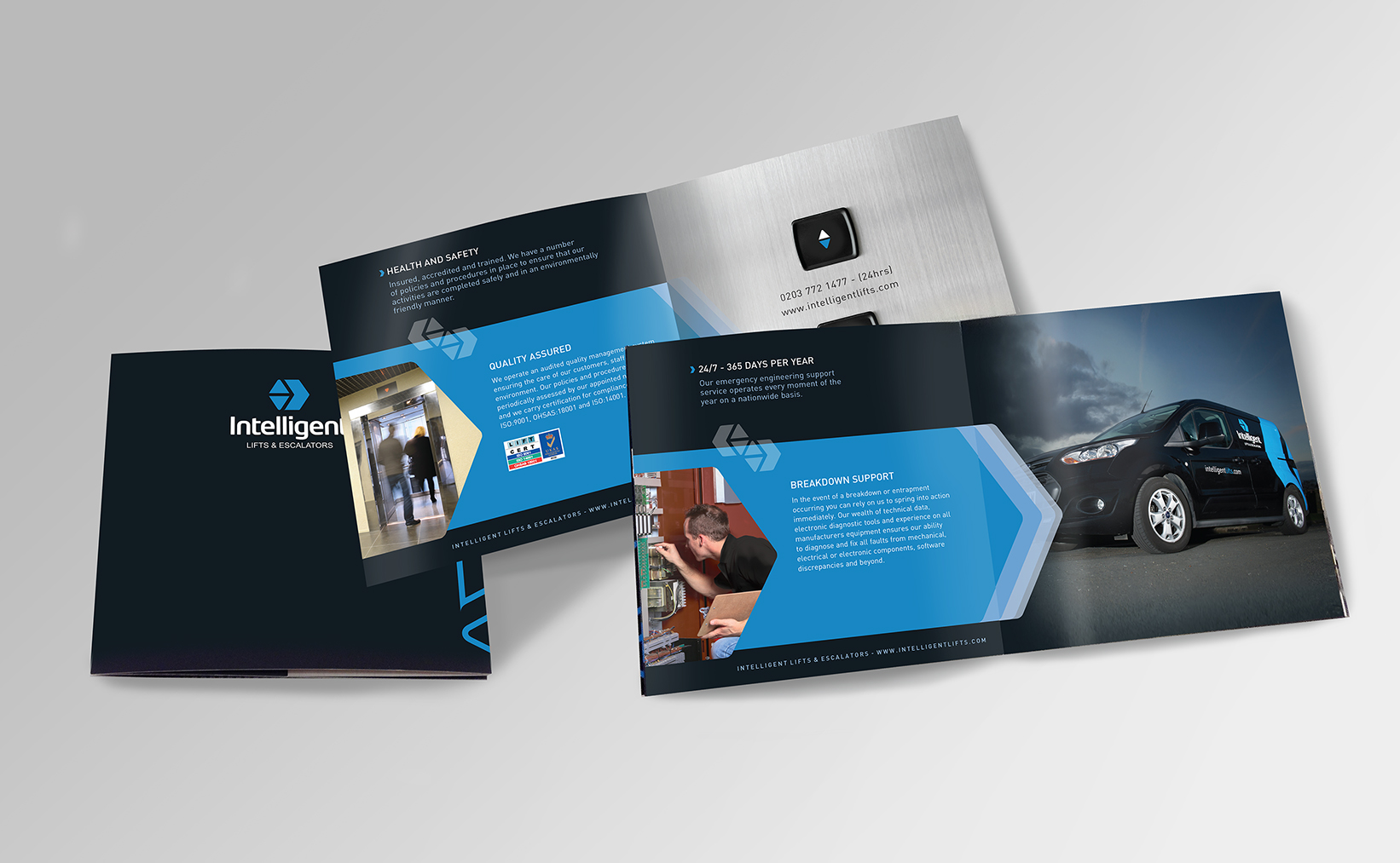 Inteligents lifts – Brochure spreads LR dpi