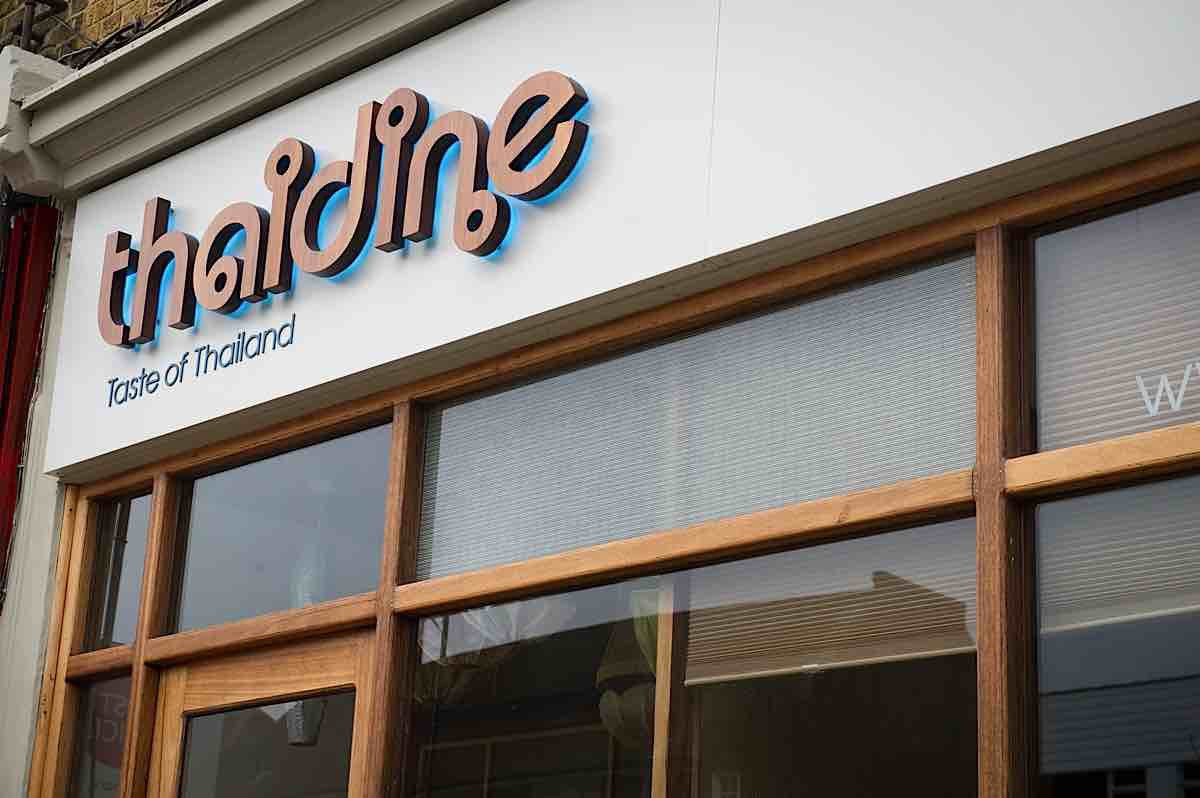 Thaidine Branding and Signage by Nugget Design