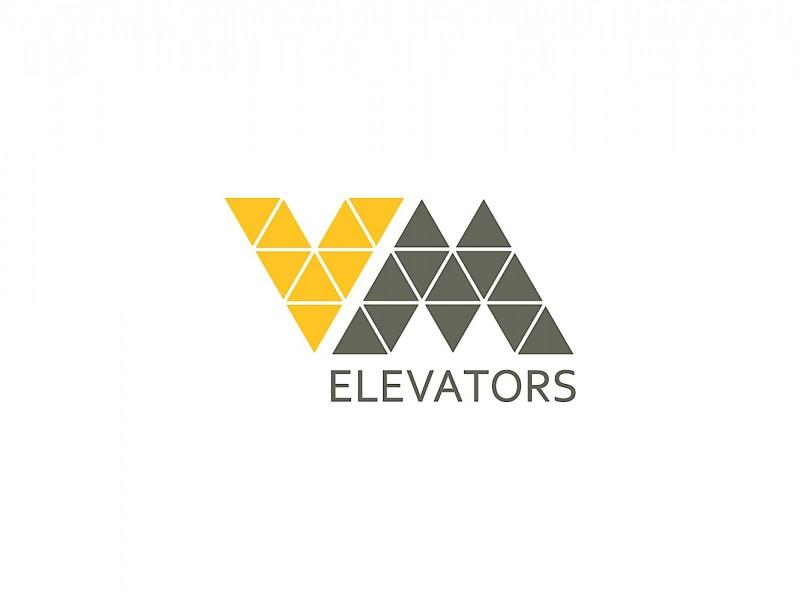 VM Elevators Lifts and Escalators branding