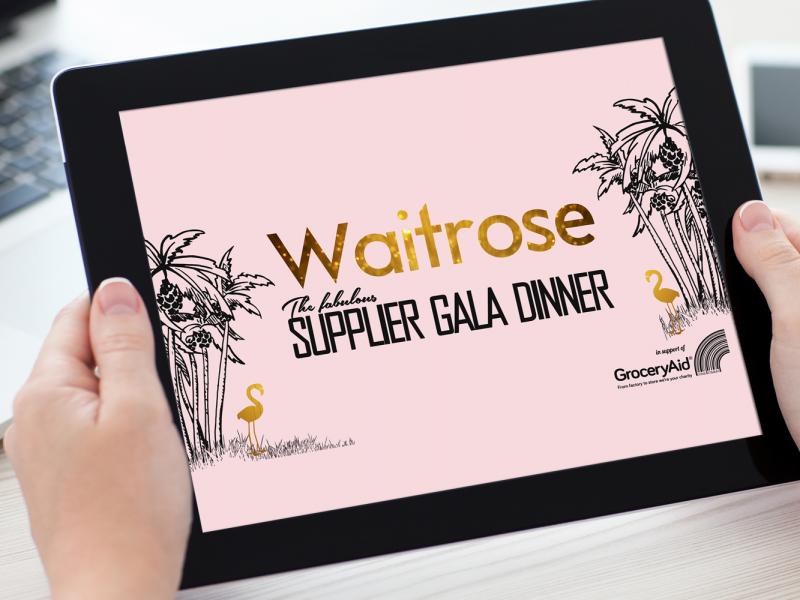 Waitrose SGD – Keynote Presentation Visual