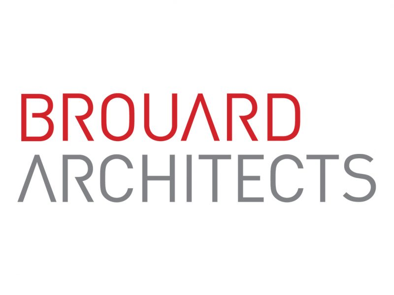 Brouard Architects – new logotype by Nugget Design