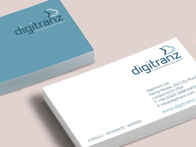 Digitranz – Brand Buisness Card