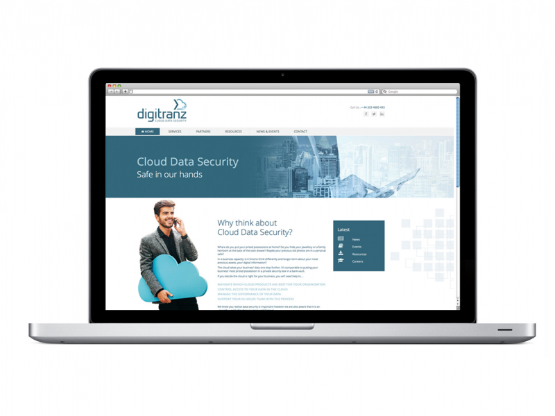 Digitranz – Website Brand Concept