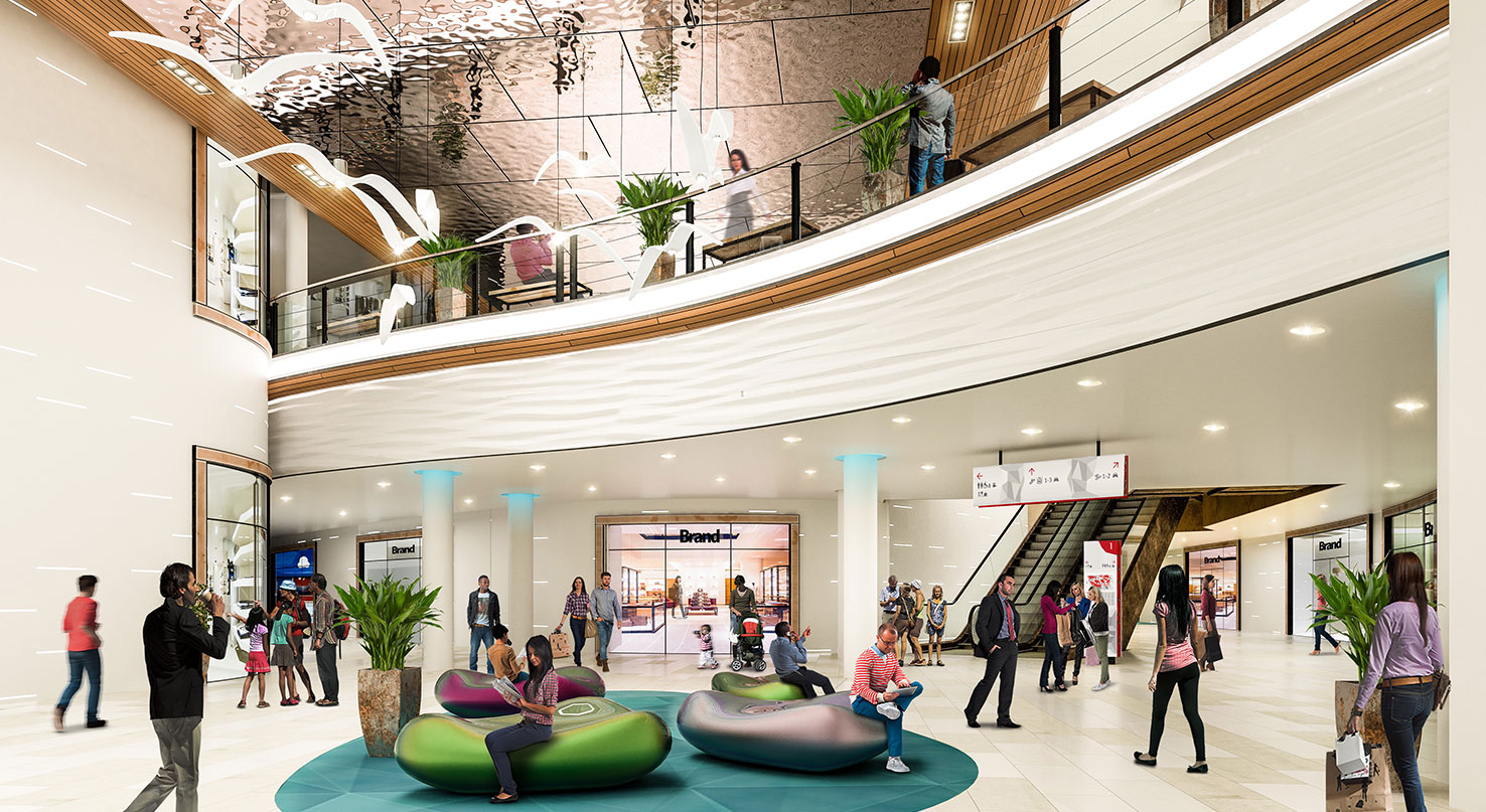 Shopping Centre Concept Interior Design And 3D Visuals