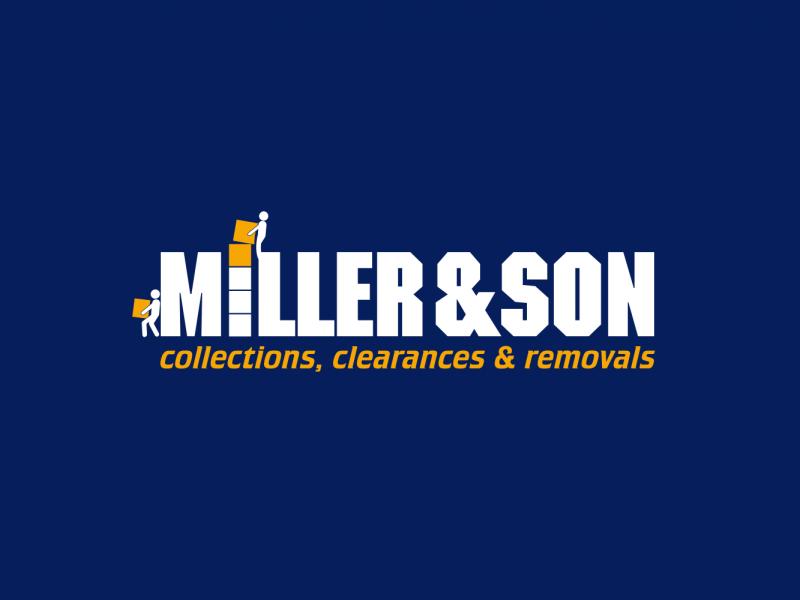 Miller & Son – Brand Logo (Reversed)