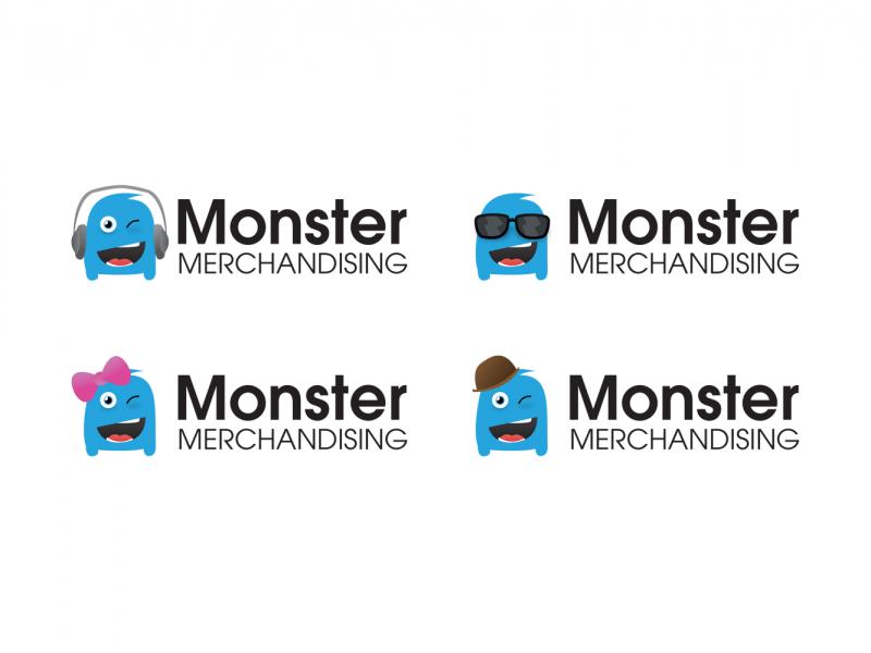 Monster Merchandising, Brand Logo Variations