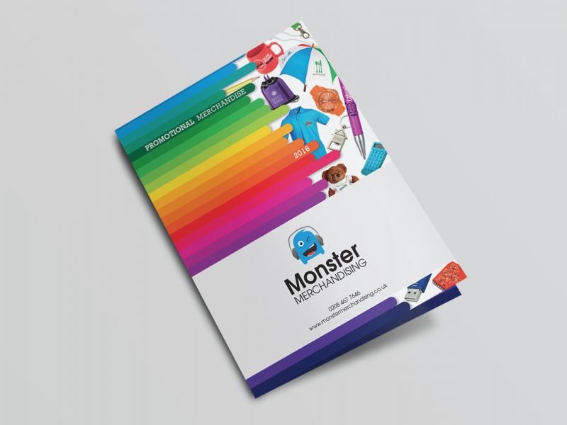 Monster Merchandising, Flyer Mockup