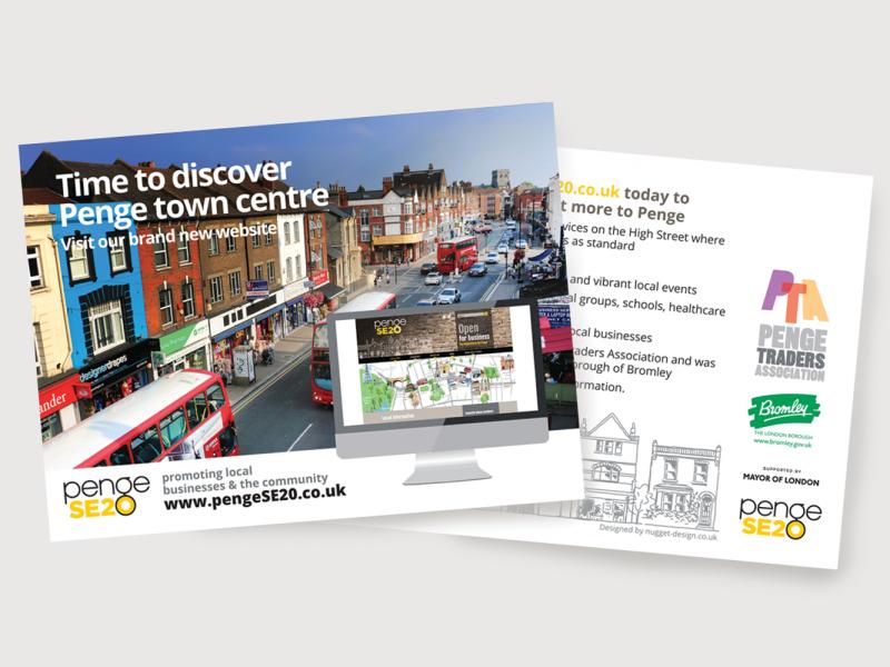 Penge-SE20—Postcard-Advert-Visual