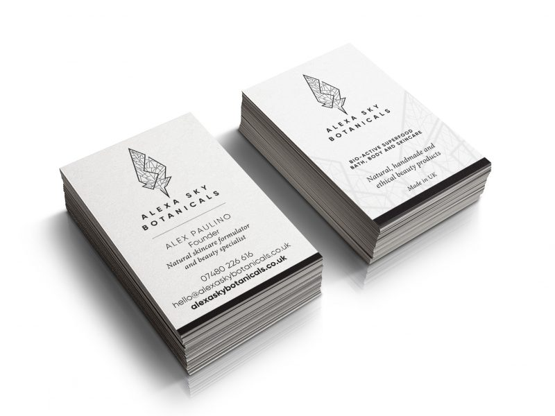 Alexa-Sky-Botanicals-Business-card-By-Nugget-Design