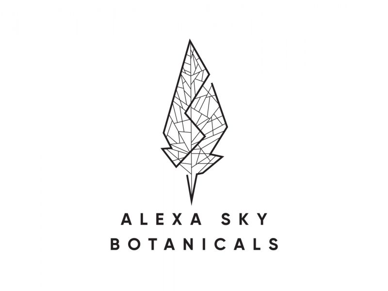 Alexa-Sky-Botanicals-Logo_By-Nugget-Design