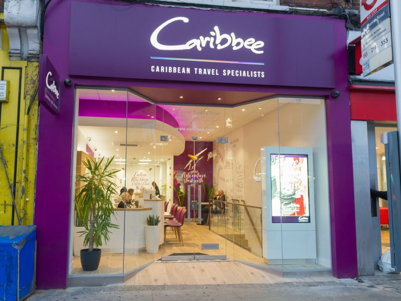 Caribbee-Signage Design by Nugget Design