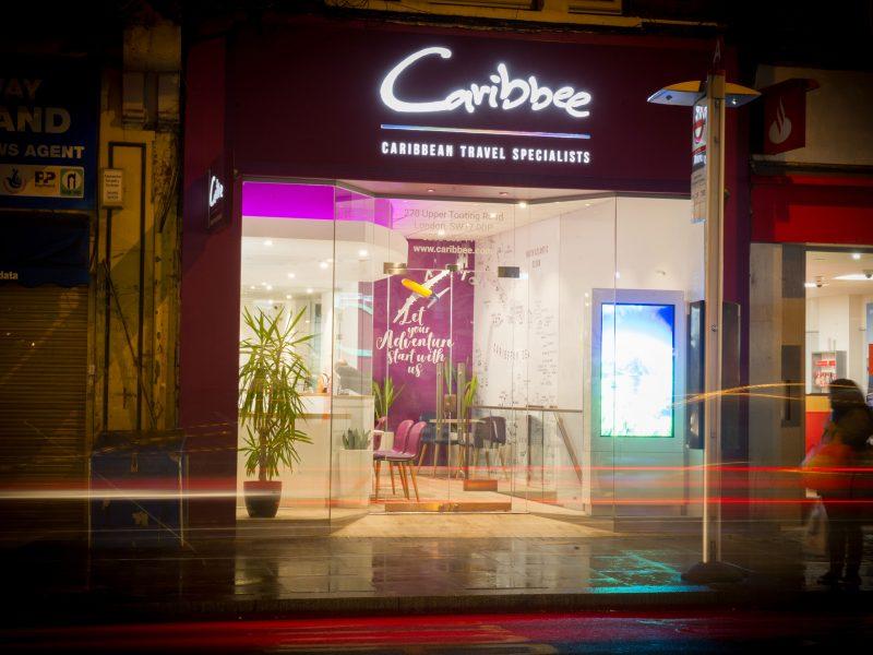 Caribbee-Shopfront Design by Nugget Design