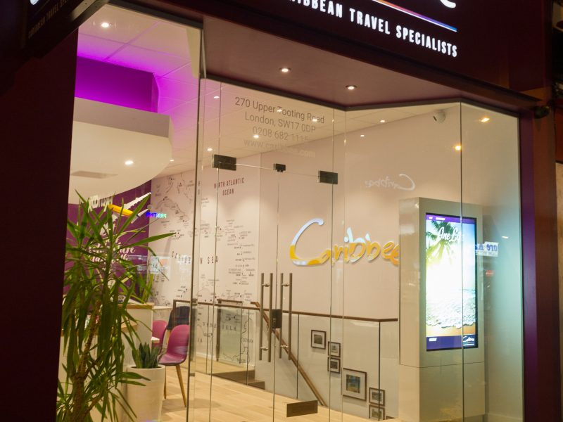 Caribbee-Shopfront Design by Nugget Design