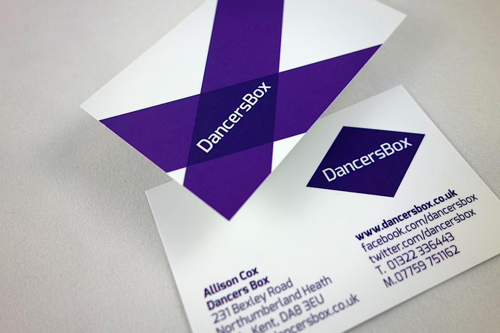 Dancers box Business cards