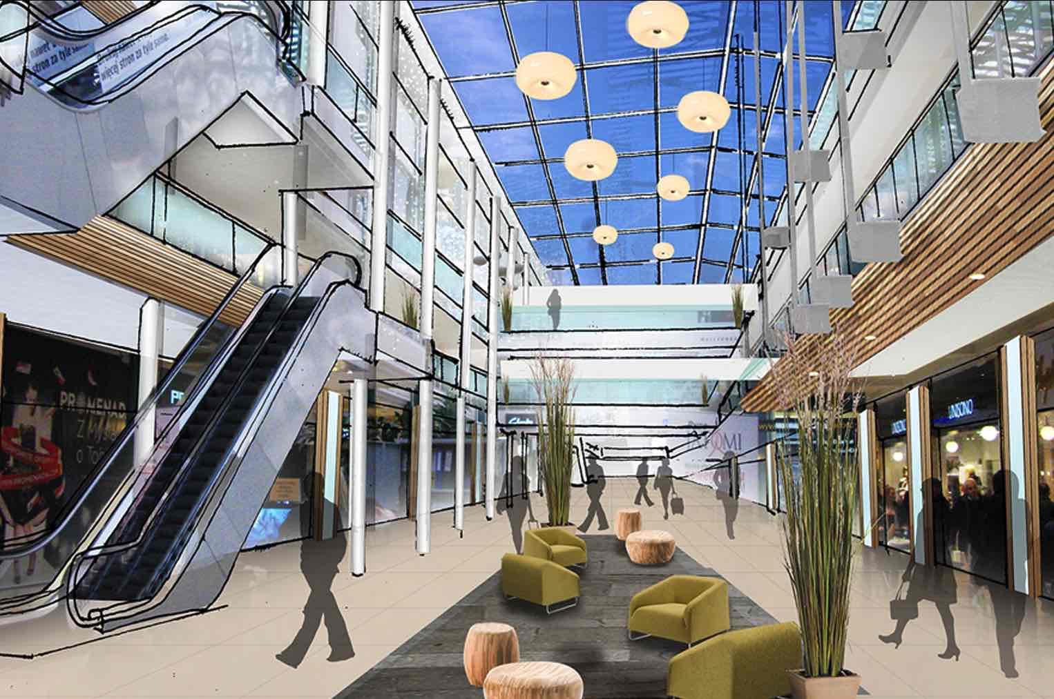 Atrium Promenada Nugget Design