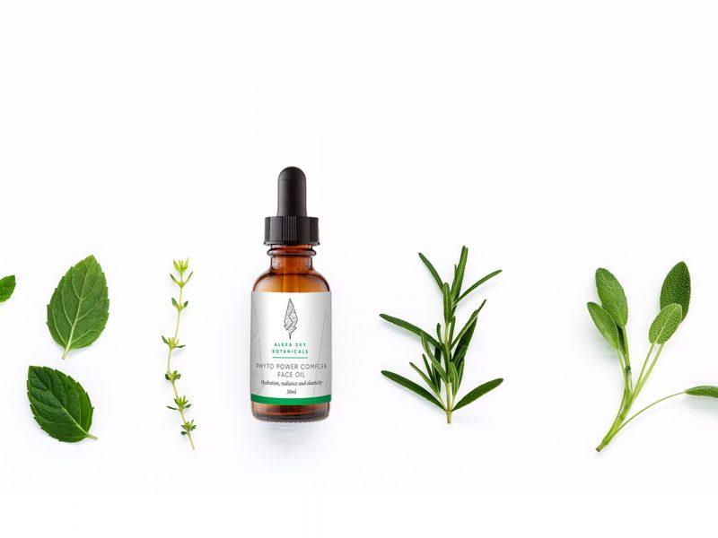 Alexa-Sky-Botanicals-Bottle-and-label-designBy-Nugget-Design