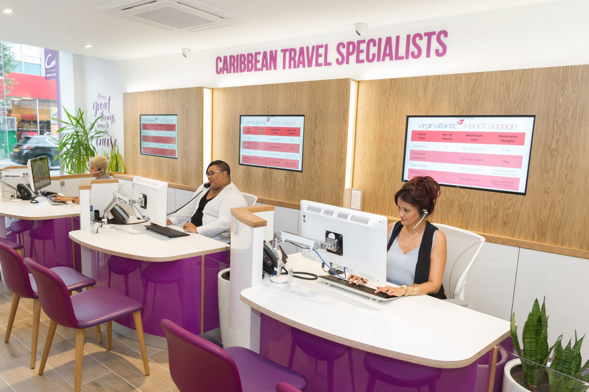 Caribbee Travel Agency | Nugget Design